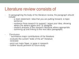 Sample Apa Literature Review Outline Things They Carried Essay