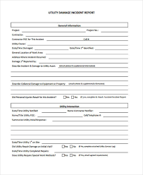 18 Damage Report Templates Free Sample Example Format