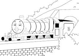 Free Thomas The Train Coloring Pages Coloring The Train Coloring