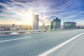 Urban Road Background Creative Image_picture Free Download