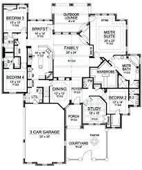 5 Bedroom 3 Car Garage House Plans Car Garage Best Images About House Plans  On 5