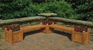 garden bench planter box. benches with planters modern house decorating design ideas planter box bench garden