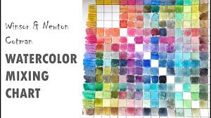 Watercolor Mixing Chart Download Making A Watercolor Mixing Chart And What I Learned By Making One