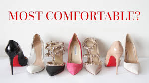 Most Comfortable Designer Heels Designer Shoe Review Louboutins Valentino Gianvito Rossi Etc