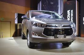 Toyota Innova Crysta variant wise price difference post-GST