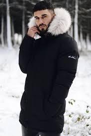 afton fur hood parka jacket