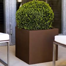 outdoor garden planters. Square Garden Planters Cubo Outdoor Planter Homeinfatuation P