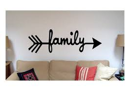 Quote Sign Cool Family Arrow Wall Quote Sign Vinyl Decal Sticker Wall Etsy