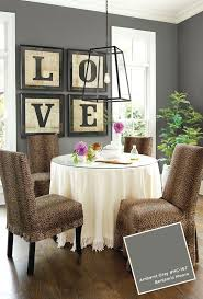 Paint Colors For Living Room Walls With Dark Furniture 17 Best Ideas About Gray Dining Rooms On Pinterest Beautiful