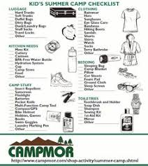 Complete camping checklist! | Make sure to hide the food-Camping ...