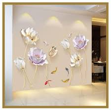 best 3d flower wall sticker ide