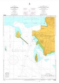 Thailand Nautical Chart 115a Sattahip Port 20 00
