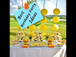 outdoor birthday party ideas view the