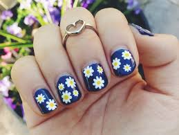 Easy Floral Nail Designs 60 Flower Nail Designs Pictures With Tutorials Yve Style Com