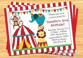 Carnival Birthday Invitations Carnival Birthday Party Invitations Circus Invitation For