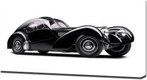 Bugatti has just begun construction of its new type 57, designed and engineered by founder ettore bugatti's son jean. Amazon Com Lilarama Usa 1936 Bugatti Type 57sc Atlantic Coupe V1 Canvas Art Print Wall Art Canvas Wrap Posters Prints