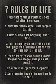 40 Rules Of Life Motivational Poster Print Calligraphy Pinterest Unique 7 Rules Of Life Quote