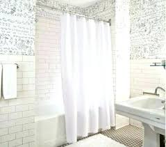 bathroom standard shower curtain size height fascinating regarding lengths impressive 1 shower curtain lengths