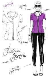 Sketching Clothing The Simplest Way To Draw Fashion Sketches Wikihow