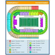 Sun Devil Stadium Seating Chart 2016 Sun Devil Stadium Events And Concerts In Tempe Sun Devil