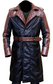 mazqoty trench coat men or winter coat jacob frye assassin s creed syndicate men s brown and