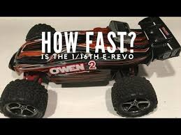 How Fast Is The Traxxas 1 16th E Revo Mini E Revo Top