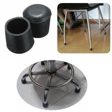20pcs rubber table chair furniture feet leg tip pads floor rubber end caps for chair legs