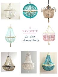 sophisticated turquoise beaded chandelier