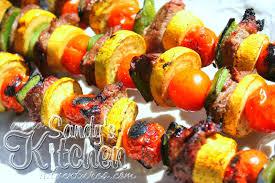Asian Beef Vegetable Skewers Sandys Kitchen