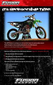 Fusion Graphix Accepting Resumes For 2012 Season Racer X Online