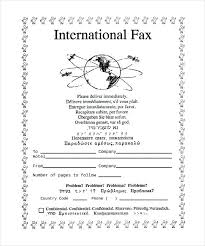 Sample Generic Fax Cover Sheet Letter Free Template Microsoft Word ...