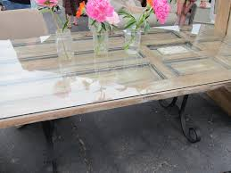furniture made from doors. Dining Room Table Made From Old Door | This Was Cool Too...rusted Furniture Doors R
