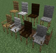 how to make a chair in minecraft. Well Now There\u0027s Chairs! You Can Make Them With Or Without Armrests, Out Of Stone And All Three Colors Planks. How To A Chair In Minecraft