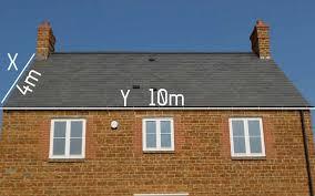 calculate roof slate