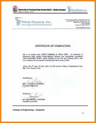 Example Certificate Medical Certification Sample For Ojt Fresh
