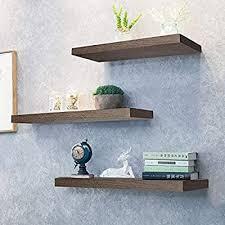 kosiehouse rustic wood floating shelves