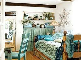 Blue Shabby Chic Bedroom Trying Bohemian Bedding Ideas Blue Shabby ...