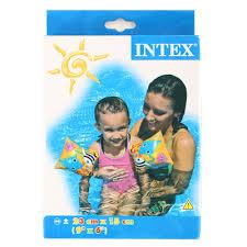 <b>Нарукавники INTEX 58652</b> Забавные <b>рыбки</b> от 3 до 6 лет (359 ...