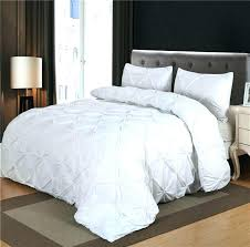 white king size duvet covers luxurious comforter set white black grey pinch pleat queen size blanket