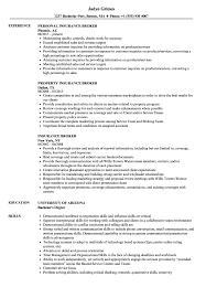 Insurance Broker Resume Sample Insurance Broker Resume Samples Velvet Jobs 1