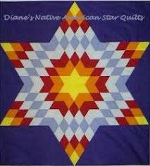 Patterns ~ Diane's Native American Star Quilts & ... Native American Star Quilts. Check It Out Adamdwight.com
