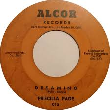 Priscilla Page - My Letter / Dreaming - Alcor - USA - 015 - 45cat