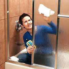 how to clean water spots off shower doors how to get hard water spots off glass shower doors hard water stain remover shower door how to remove old water