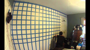 hd 3d cube wall painting time lapse you