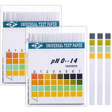 Ph Level Chart For Urine Hicarer Universal Ph Test Paper Strips For Test Body Acid Alkaline Ph Level Skin Care Aquariums Drinking Water With 4 Testing Panels For Increased