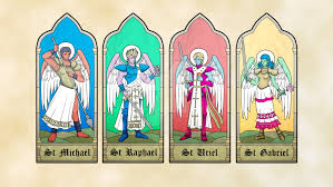 Image result for the four archangels
