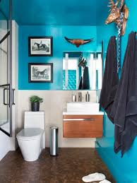 blue bathroom paint. aqua blue and white best bathroom paint color ideas using small mounted vanity with brown floor design