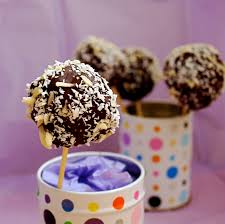Chocolate Coconut Almond Cake Pops Shockingly Healthy