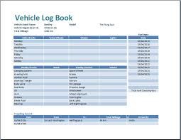 car log book
