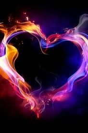 colorful heart wallpapers. Delighful Wallpapers Download Free 3D Fire Colors Heart IPhone Wallpaper Mobile  Contributed By Charliehottey Is  With Colorful Wallpapers